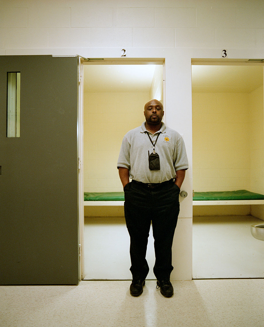 Curtis Delgardo, correctional officer at the King County Juvenile Detention Center