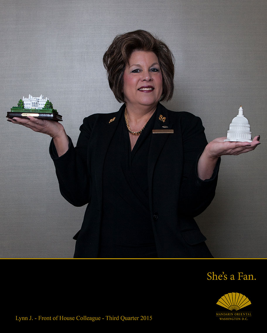 Mandarin Oriental Washington Hotel Colleagues Portraits